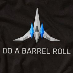 STARFOX Do a Barrel Roll  Nintendo 64 T-Shirt  Star Fox by GarCard