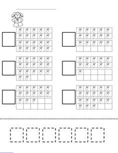 Counting Carrots Ten Frame Worksheet