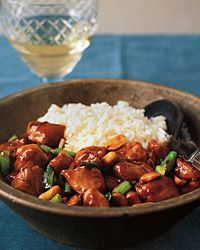 Kung Pow chicken, from scratch. Something I sporadically want to make but always forget about.