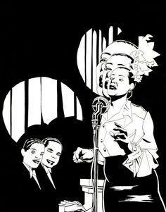 earsplittingtrumpet: from José Muñoz and Carlos Sampayos Billie...  earsplittingtrumpet:  from José Muñoz and Carlos Sampayos Billie Holiday