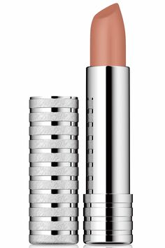 Nude Lipstick Clinique Long Last Soft Matte lipstick in Matte suede $16