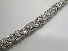 Vintage 1.00 Carat Diamond 14K White Gold by lonestarestates $1350.00