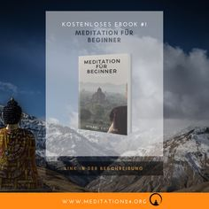 """Kostenloses Ebook #1 Meditation für Beginner. Link in der Beschreibung. Du möchtest lernen wie man meditiert und die Achtsamkeit in seinen Alltag integriert? Das alles und mehr lernst du im kostenlosen Ebokk """"Meditation für Beginner.. Link im Profil..  #meditation #meditation24 #erleuchtung #achtsamkeit #spirituelleserwachen #sinndeslebens #werbinich #eckharttolle #gratis #kostenlos #innererfrieden #glückseligkeit, #spiritualität #osho #stille #frieden, #picoftheday #spirituell #Gegenwart…"""