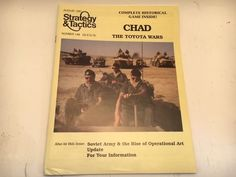 "Mint #144 Strategy & Tactics Magazine + Wargame ""Chad -The Toyota Wars"" Khadaffi #DecisionGames"