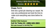 Bret did a great job cleaning our carpet. He was very professional and took the time to...