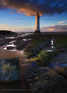 New Brighton Lighthouse, Wirral, England