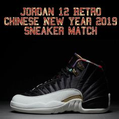 finest selection 6f587 94717 Jordan 12 Chinese New Year Sneaker Matching Clothing