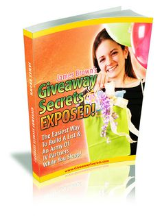 Giveaway Secrets Exposed by James Brown