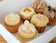Sitruuna-Vaahtokarkki Cupcakes