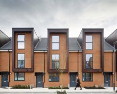 Erith Housing Scheme: Bexley homes, London, England - design by Broadway Malyan - London housing estate, Bexley residential building: Erith property