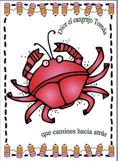 Rimas, carteles para psicomotricidad, FREE Spanish rhyming posters