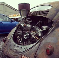 Vw Beetle 3/71 4/71 Supercharger