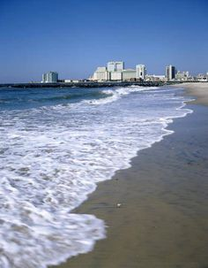 Looks amazingg right now. Jersey Girl, New Jersey, Brigantine Beach, Places Ive Been, Places To Go, Atlantic City, Places Of Interest, Natural Wonders, Around The Worlds