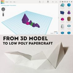 Picture of Introduction to low-poly papercraft