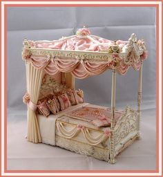 Very splendid bed, but could adapt picture frames to produce sometning a bit similar.