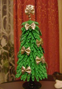 Simple handmade Christmas crafts.