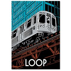 The Loop in downtown Chicago is named for the rectangular elevated track…