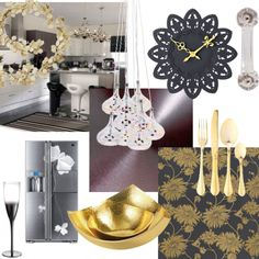 Kitchens are best kept practical, functional and utilitarian, right? Wrong! Kitchens are ALWAYS where the party is - so why not introduce some glamour in preparation for the holiday season?