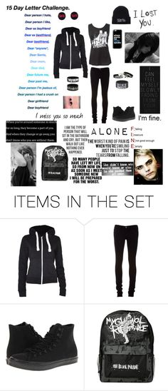 """""""15 Day Letter Challenge/ Dear ex-best friends, I'm sorry."""" by serenity-sempiternal2006 ❤ liked on Polyvore featuring art"""