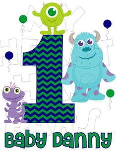 Hey, I found this really awesome Etsy listing at https://www.etsy.com/listing/175350709/printable-diy-mike-wazowski-sully-baby