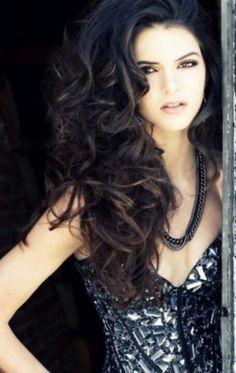 beautiful long hair...