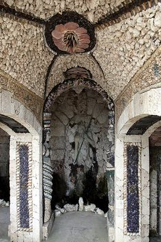 Cherkley Court seashell grotto IMG_1141m by Philip Talmage, via Flickr