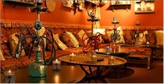 Hookah bars are slowly becoming one of my favorite weekend hangouts......nice relaxed atmosphere
