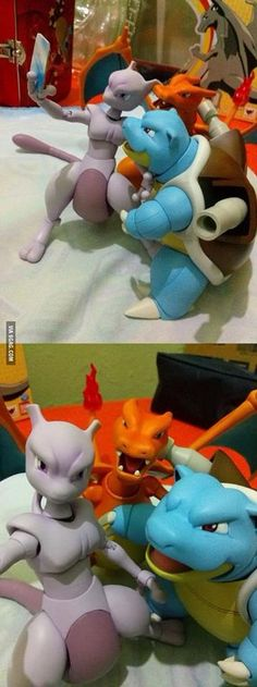Oooh Mewtwo! Dats an awesome angle for u!