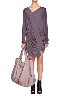 street style dress Lukasz Jemiol basic sample sale http://milieubazaar.com