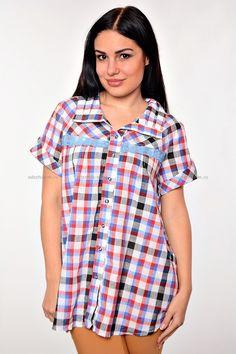 Рубашка Д3913 Размеры: 48-56 Цена: 310 руб.  http://odezhda-m.ru/products/rubashka-d3913  #одежда #женщинам #рубашки #одеждамаркет