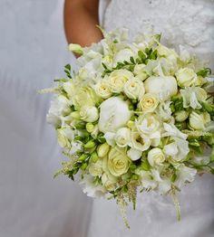Kongelig brudebrukett