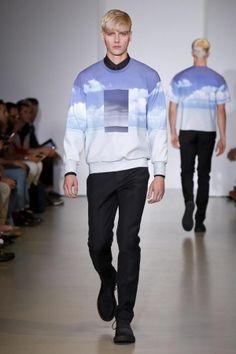 Calvin Klein Menswear Spring Summer 2014 Milan via http://nwf.sh/12iRERs