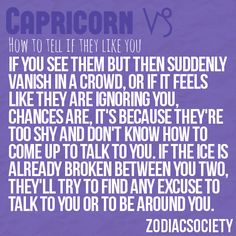 signs a capricorn woman likes you