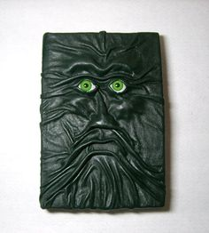 Dark Green Large Leather Journal Notebook  by LeasBoutique on Etsy, $60.00