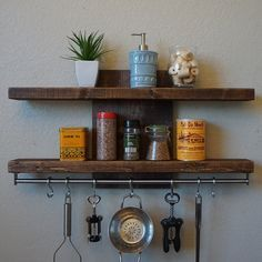 Pin By Malinda Graham On Outside Kitchen In 2020 Shelves Kitchen Rack Simple Kitchen