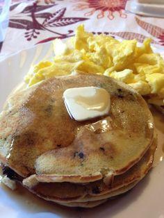 Milk free, egg free pancakes. Dairy free pancakes