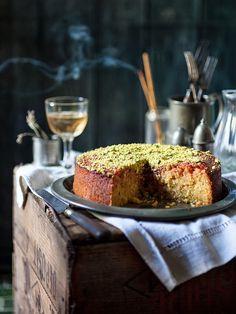 Lemon Polenta Cake (Inspired by Lemon Syrup Cake by Nigel Slater)