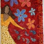 How to Hook Rugs from Start to Finish A Free Beginner How to Course in Hooking Rugs compliments of Deanne Fitzpatrick Rug Hooking Studio Hooking rugs is easy. You can even teach yourself. You pull… Rug Hooking Designs, Rug Hooking Patterns, Rug Patterns, Homemade Rugs, Latch Hook Rugs, Rug Inspiration, Hand Hooked Rugs, Penny Rugs, Textiles