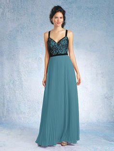 8a57cfae60f Black Lace Sleeveless A-line Draped Two Tone Bridesmaid Dress Sweetheart  Neck Wedding Dress Styles
