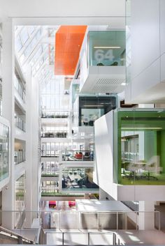 'One Shelley Street' office interior by Clive Wilkinson Architects