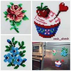 Magnets hama perler beads by renk__ahenk
