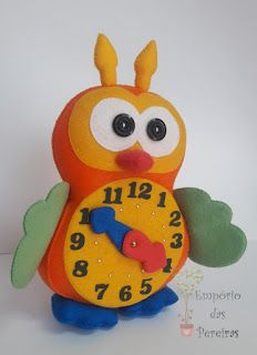 Empório das Pereiras: Relógio Coruja