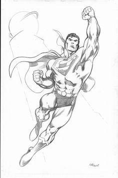 Recent Superman Commission by EdMcGuinness.deviantart.com on @deviantART