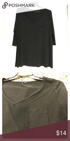 Cynthia Rowley black tunic ❤ Excellent condition Cynthia Rowley Tops Tunics