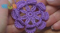 Crochet Flower Tutorial Sheru : 1000+ images about Crochet Flowers on Pinterest Crochet ...