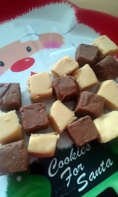 "Vickys Chocolate / Maple Vanilla Fudge, Gluten, Dairy, Egg & Soy-Free! ""Sorry I didn't more step pics loaded, my hubby got home for Christmas and I forgot to take photos of the rest of the process :-[ Don't worry about the fudge tasting of coconut, that flavour is completely hidden with the other additions and this fudge tastes like any dairy fudge you've ever made - but better lol""  @allthecooks #recipe #fudge #dessert #candy #chocolate #easy"