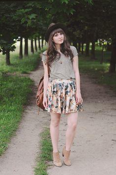 Po mojej stronie lustra - blog modowy : Khaki.