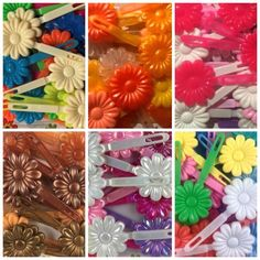 Just a few of the many kids barrettes we have in stock! Hair Beads, Twist Braids, Headbands, Natural Hair Styles, Hair Accessories, Flowers, Kids, Ballerinas, Young Children