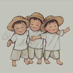 2,979 個讚,8 則留言 - Instagram 上的 MINGUK(@ning_lovemingukie):「 _______❤_______ Cr.@shandyclaws  #daehanmingukmanse#daehan#minguk#manse#민국이#민국 」 Minions, Superman Baby, Song Daehan, Song Triplets, Kids And Parenting, My Boys, Cute Babies, Chibi, Disney Characters