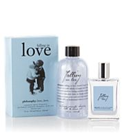 I fell in love with this fragrance and I wear it everyday. I use the shower gel, lotion, body spray and fragrance. Philosophy Brand, Philosophy Skin Care, Philosophy Products, Perfume Gift Sets, Bombshell Beauty, Smell Good, Love Gifts, Valentine Day Gifts, Valentines